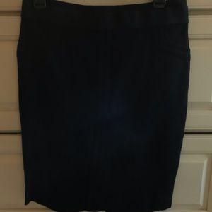 BCBG skirt with zipper up back